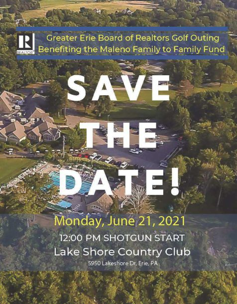Golf Outing 2021 Save the Date Poster